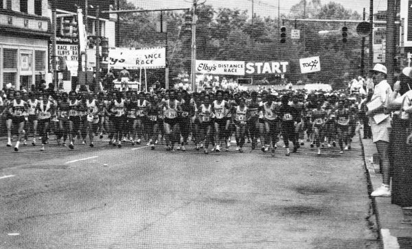 The streets of Wheeling were lined by fans each year.