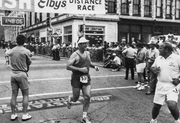 Race Director Hugh Stobbs, an avid marathon runner for many years, even competed in his own race a few times.