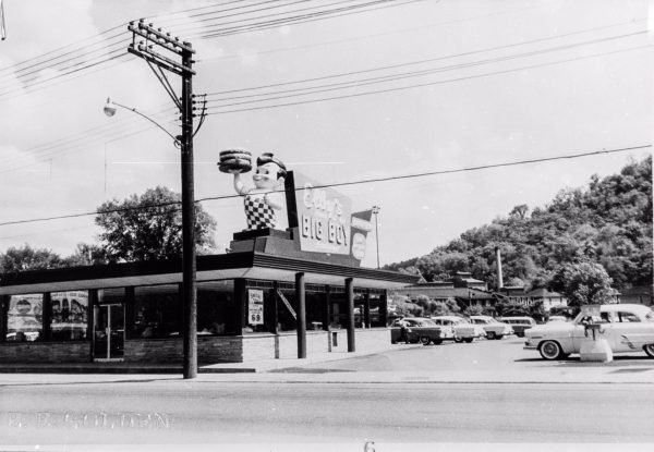 The original Elby's Big Boy on Natrional Road was opened in 1956.