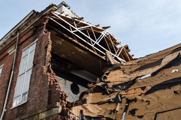 The building collapse took place Feb. 29th.