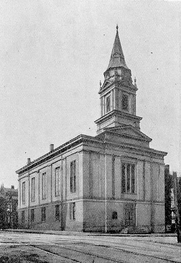 The Second Presbyterian Church in Center Wheeling. (Photo provided by the Wheeling National Heritage Area Corp.)