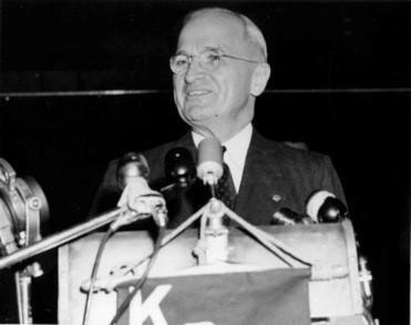 Truman Giving Speech
