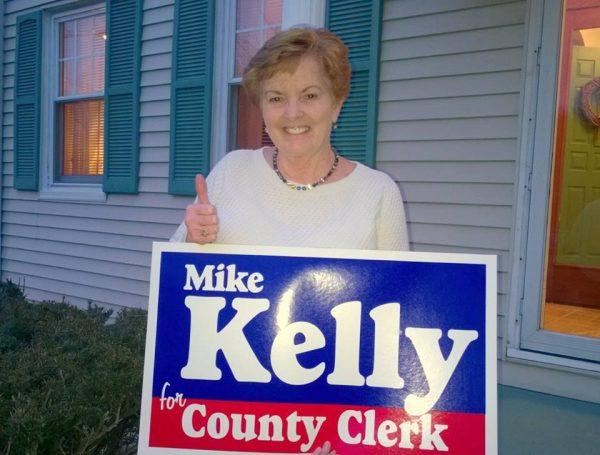 Debbie Page is well aware of Kelly's qualifications for the position of Ohio County Clerk.