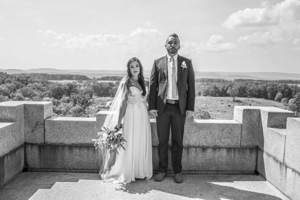 Ty Thorngate recently married his bride, Jessica.