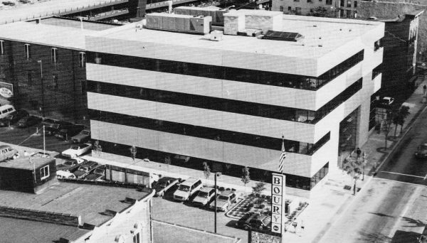 The Boury Center was constructed in the mid-1980s but was sold to Ormet just a few years after the grand opening.