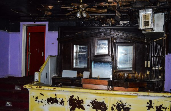 The original bar remains inside today.