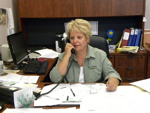 Hoffman insists that she is a hands-on assessor.