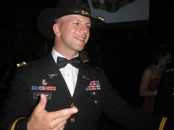 Van Camp was involved with the ROTC Program at Marshall University,