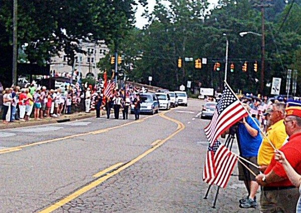 On July 24, 2011, David returned to his hometown with thousands of local resident lining the street of Wheeling.