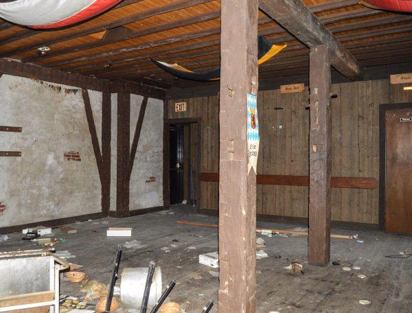 The dining area will be expanded further than what was featured inside the former eatery.