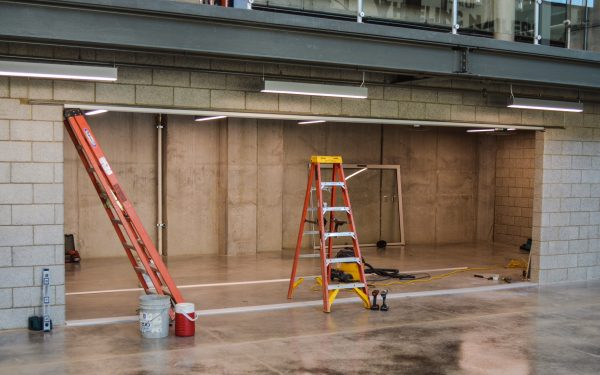This area is where a Nailers/Penguins gift shop will be located.