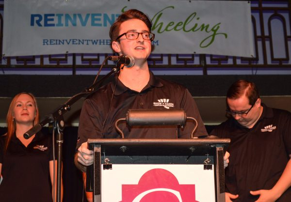 Dougherty interned for two summers with Wheeling Heritage and then was hired in 2012 as the director of ReInvent Wheeling.