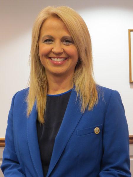 Superintendent Dr. Kim Miller.
