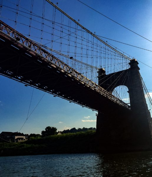 Preserving the historic Wheeling Suspension Bridge is a priority of the new mayor and new council.