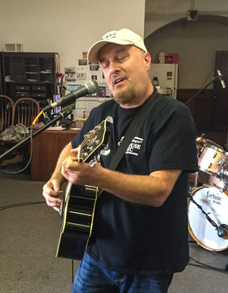 "Local musician Gregg Molnar played in two bands during, ""Thrills in the Hills."""