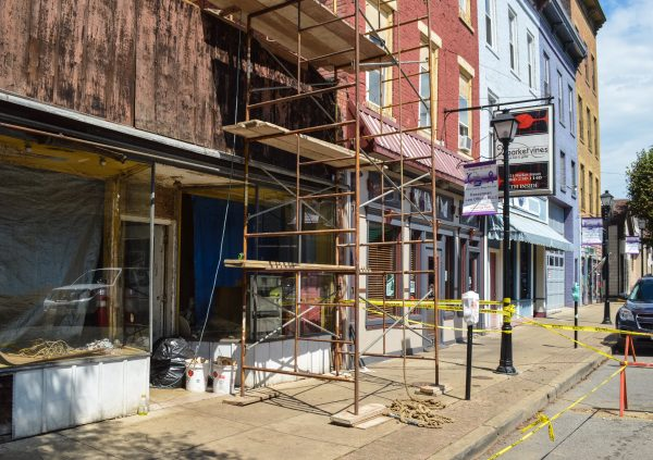 Six storefronts are now available in the area of Centre, and while three are ready for tenants, the other three are undergoing renovation projects.