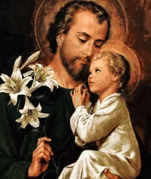Saint Joseph is know as the patron saint for unborn children.