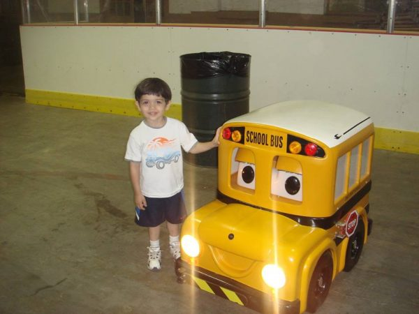 """Buster the Bus"" is always a popular attraction with the young children."