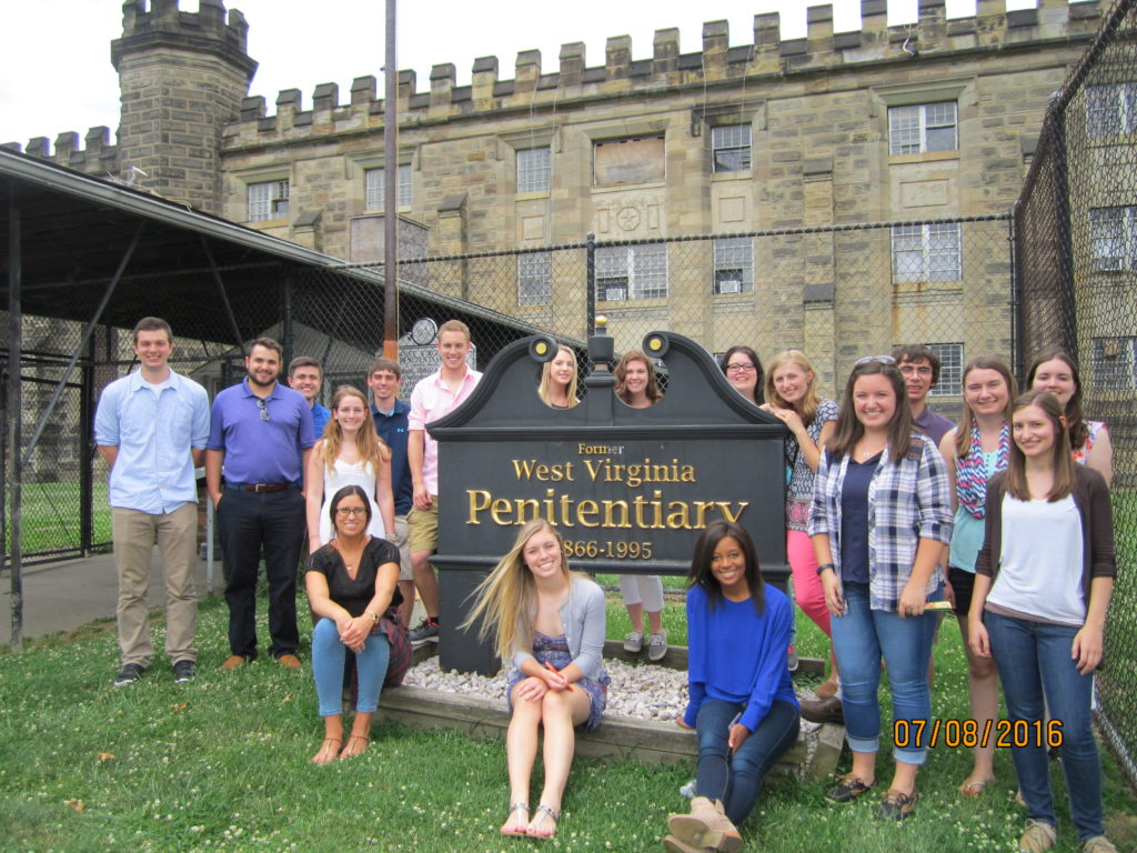 The fellows visited the former West Virginia Penitentiary and took part in the new escape room attraction. Opportunities like these help to build teamwork and group communication skills.