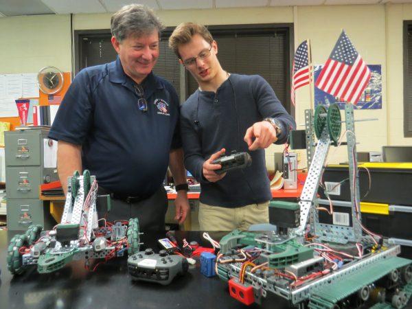 Robotics is a part of the curriculum at Wheeling Park High School.