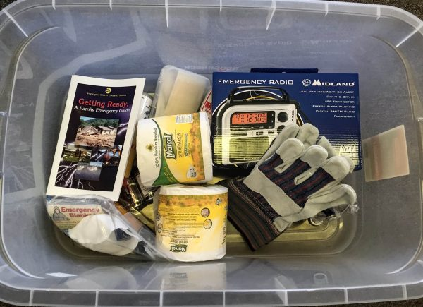 The Ohio County Emergency Management Agency has distributed emergency preparedness kits this month to listeners of AM 1600 WKKX and AM 1370 WVLY.