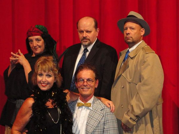 "The very first cast performed, ""Speakeasy, Die Hard""in 1996, and will do so again this evening at Oglebay Institute's Stifel Fine Arts Center."