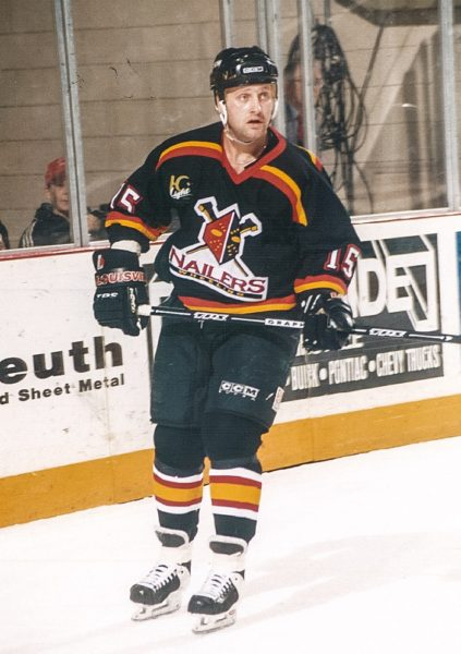 Former Nailer Darren Schwartz was a fan favorite in Wheeling.