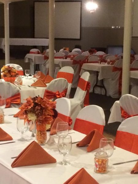 Duplaga renovated the upstairs for banquets and receptions.