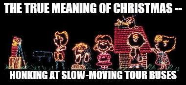 For a few evenings per year Oglebay's Festival of Lights slows traffic near the park and in the Woodsdale section of Wheeling.