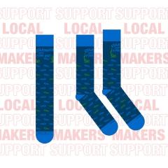 Coleman's Fish Market Socks