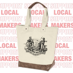 West Virginia Seal Resort Tote