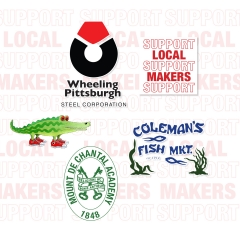 Wheeling Business Sticker Pack