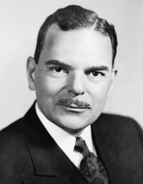 Candidate for President Thomas Dewey