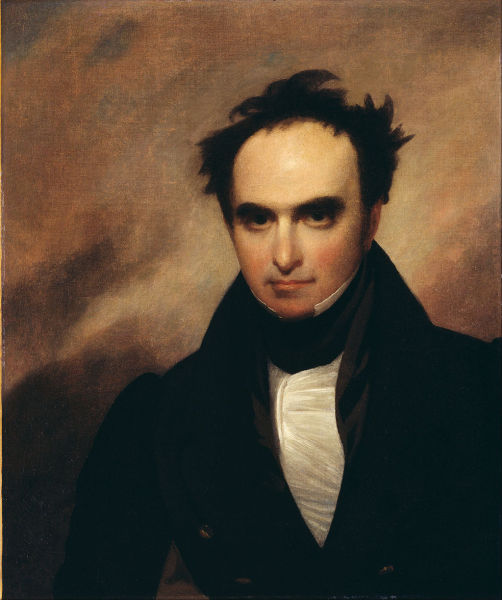 Daniel Webster (1834), by Francis Alexander