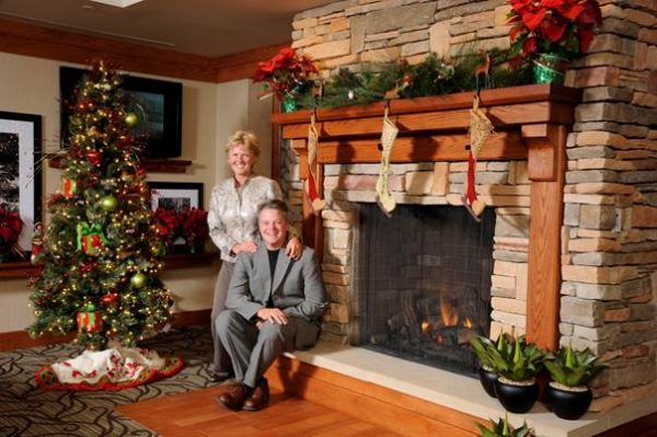 Bob and Stephanie Hitchman took over the operation of the Hampton Inn Wheeling in 2008.