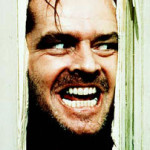 """The Shining- Here's Johnny"". Via Wikipedia."