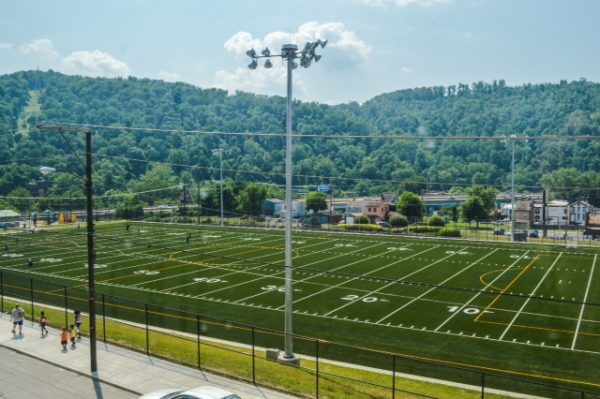 The J.B. Chambers Recreation Field opened for use in Summer 2014, and scheduling is now taking place for this year.
