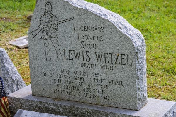 CSPAN - Wetzel Grave Marker