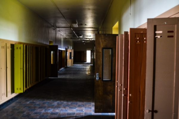 Clay - hallway