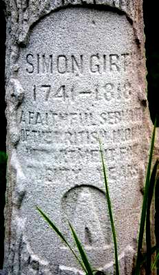 Girty Grave Marker (1)