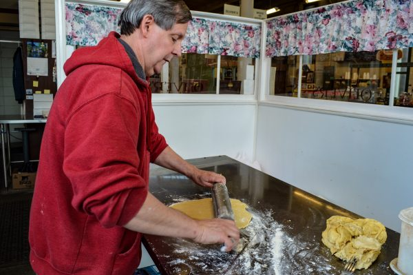 Everything about the pies at Oliver's is homemade, and Jim Oliver arrives to his shop each morning by 5 a.m. Monday through Saturday.