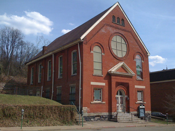 Simpson Methodist Church on Eoff Street, Wheeling where Berry's services were held. http://historic-wheeling.wikispaces.com/1000+Chapline+Block