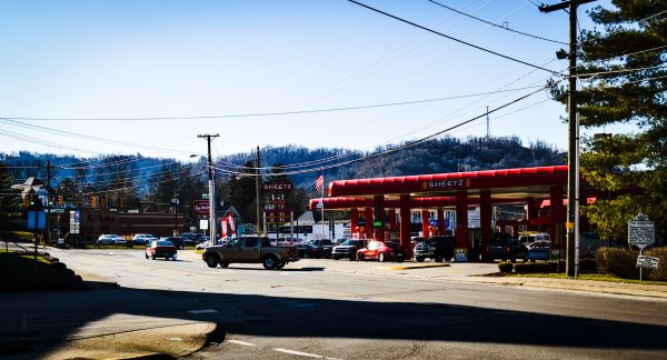 Sheetz replaced the Baskin Robbins and Kahle's Pharmacy more than a decade ago.