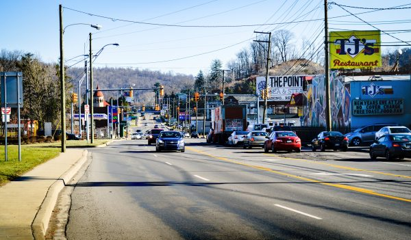 "The ""Gateway from the West"" to the Woodsdale section of Wheeling has always been National Road, but the businesses lining the historic roadway have changed frequently since the 1970s."