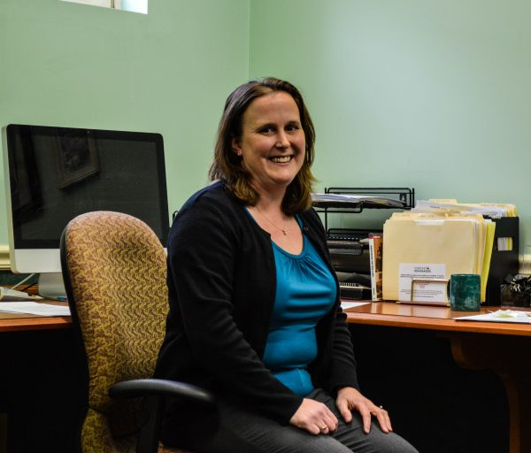 Hope Coffield began working as the director of the Wheeling Academy of Arts and Science Foundation seven months ago.