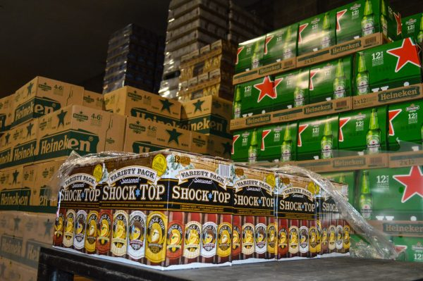Carenbauers have long sold imports such a Heineken, but the business has not been afraid to add new brands like Shock Top.