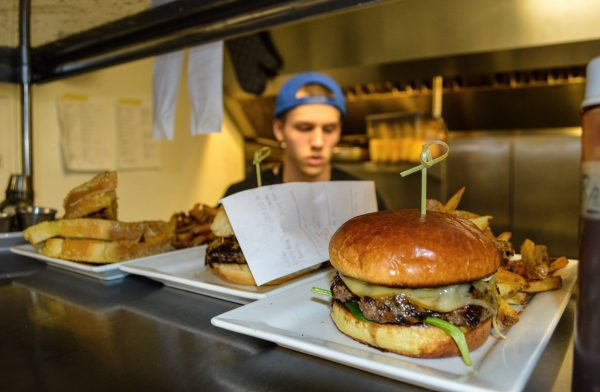 Chef Max Estep and all of the chefs at Avenue Eats will prepare just about anything - from the burgers to vegetarian dishes to a grilled cheese sandwich.