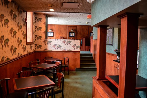 A portion for the basement has been renovated for a restaurant operation is currently available for lease.