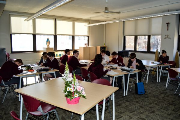 Classroom renovations are taking place inside the walls of CCHS, and several more are planned for the summer months.
