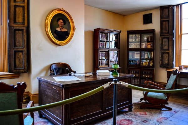 "This office was once occupied by the ""iron judge of West Virginia,"" federal Judge John Jay Jackson, Jr."